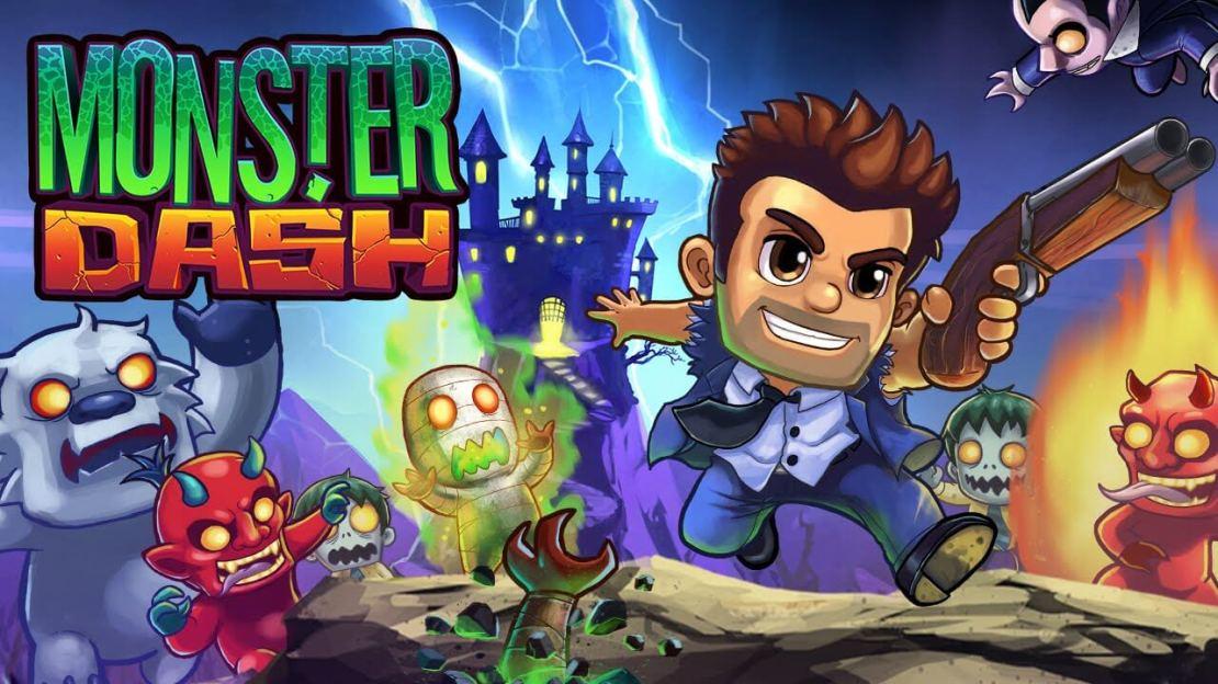 """Monster Dash"" remaster 18.08.2020 (Halfbrick Studios)"