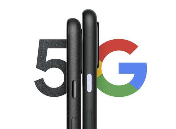 Zapowiedź Pixel 5 (5G)