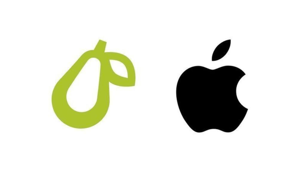 Prepear logo vs Apple logo