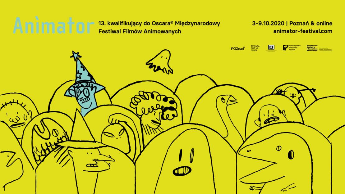 13 Międzynarodowy Festiwal Filmów Animowanych 13th International Animated Film Festival Poznań, 3–9.10.2020