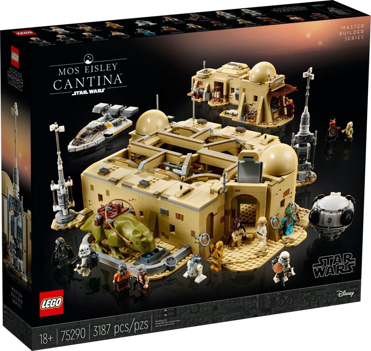 Pudełko zestawu Kantyna Mos Eisley™ LEGO #75290