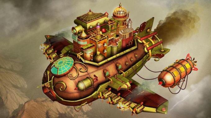 Escape Machine City: Airborne
