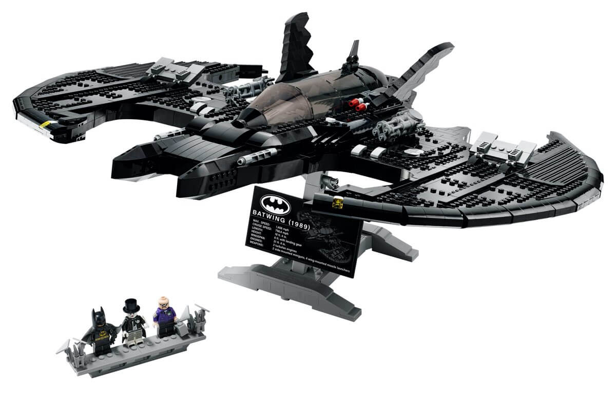Zestaw LEGO Batman Batwing z 1989 roku (76161)