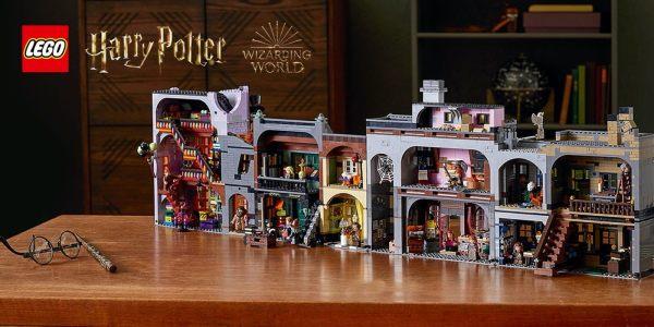 Zestaw LEGO Harry Potter Ulica Pokątna już dostępny!