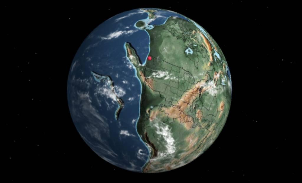 Obszar dzisiejszego Seattle pojawiło sie dopiero 240 mln lat temu!