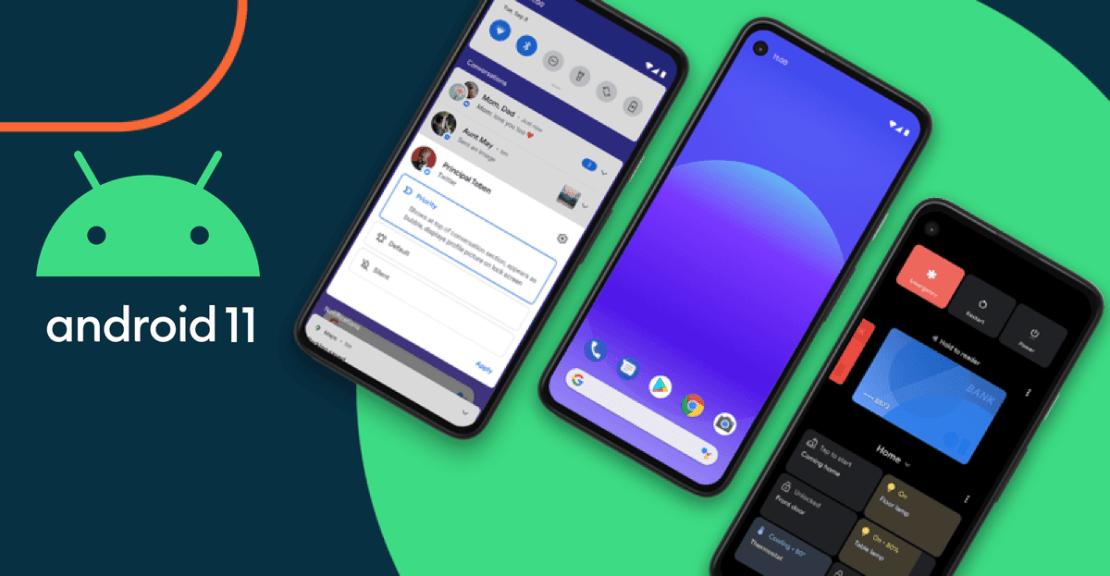Finalna wersja Android 11 (Google Pixel)