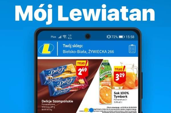 """Aplikacja """"Mój Lewiatan"""" na Androida i iOS-a"""