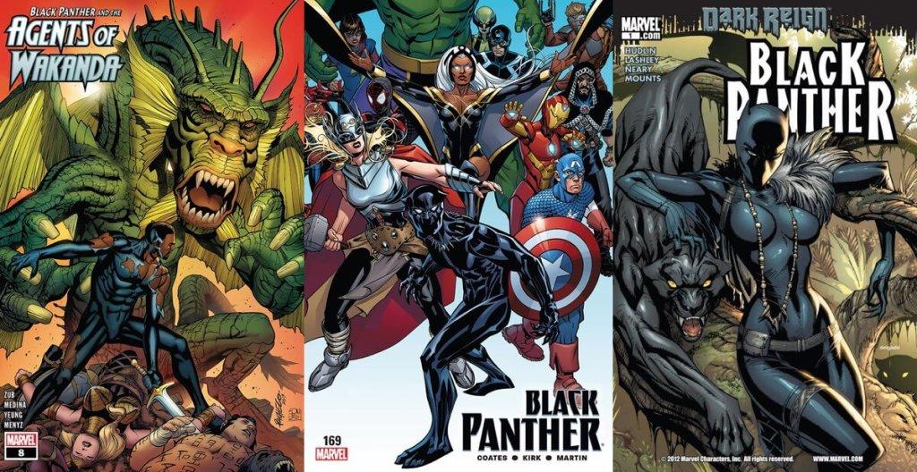 "E-komiksy ""Black Panther"" za darmo na ComiXology!"