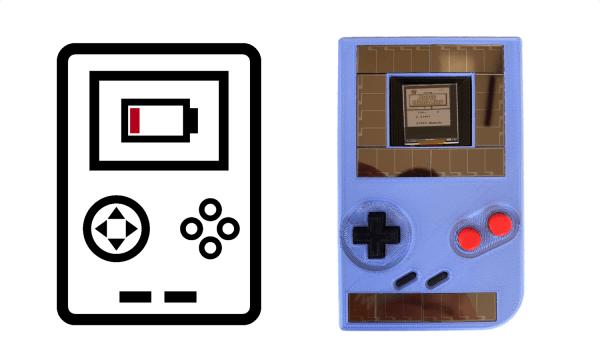 Ten Game Boy działa bez baterii, ale wyłącza się co 10 s
