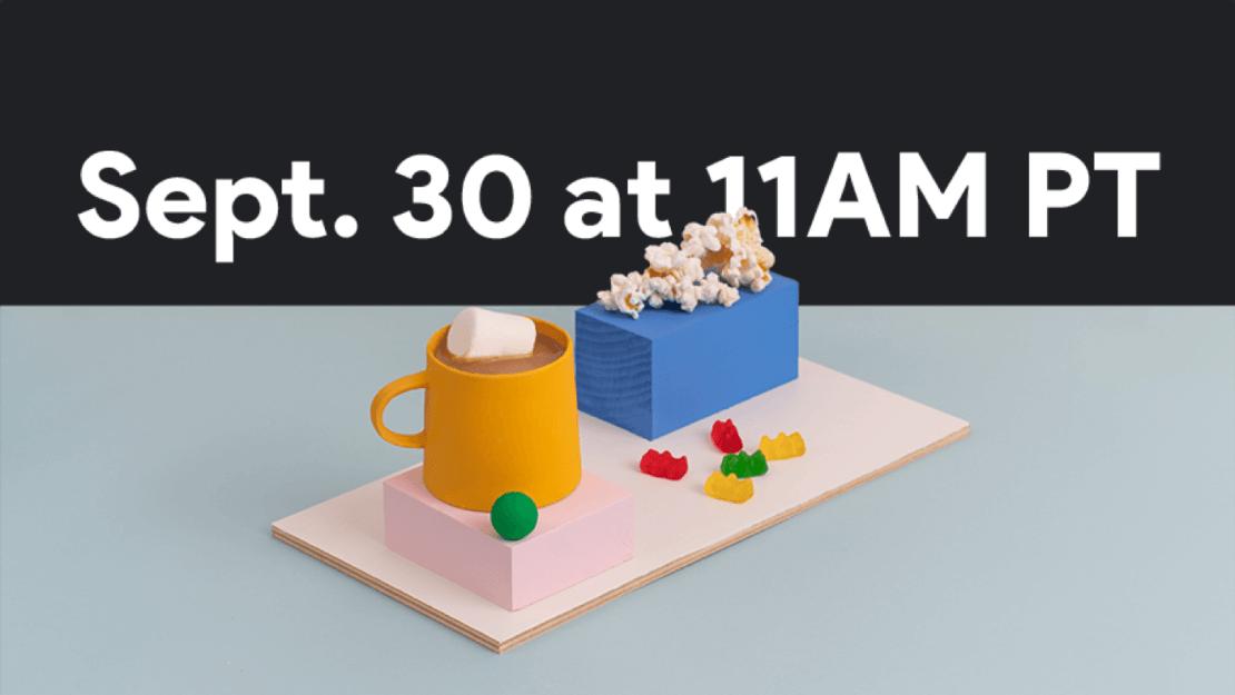 Google Pixel 5 Event 30 września 2020
