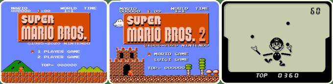 3 gry na minikonsolę Super Mario Bros. Game & Watch z 2020 roku (na 35-lecie)