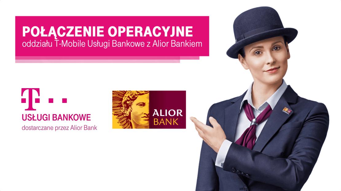 Połączenie operacyjne Usługi T-Mobile Bankowe z Alior Bankiem (29 listopada 2020 r.)