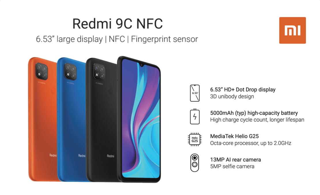 Redmi 9C NFC (Xiaomi)