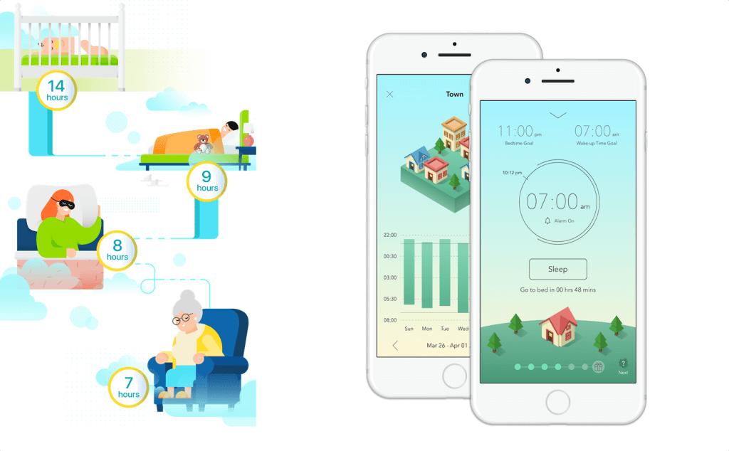 Aplikacja SleepTown