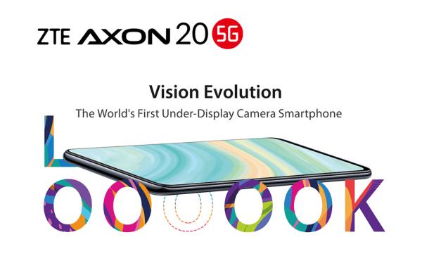 ZTE Axon 20 5G – pierwszy smartfon 5G z kamerą pod wyświetlaczem
