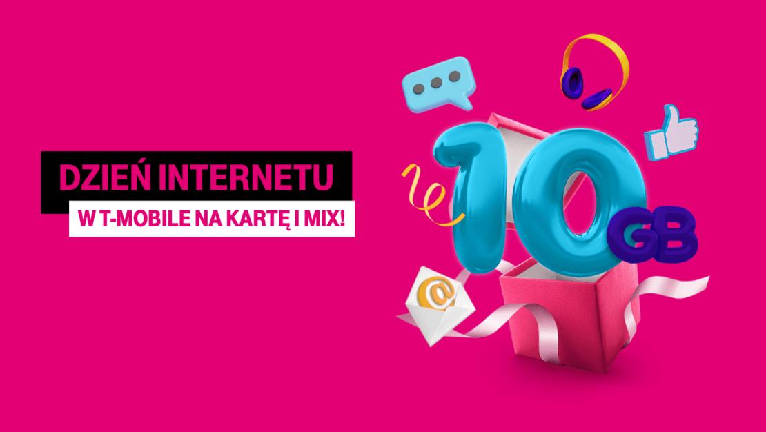 10 GB z okazji Dnia Internetu dla klientów T-Mobile