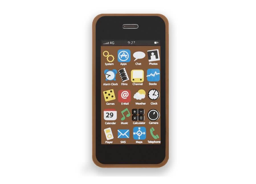 Czekoladowy telefon Choco One Pro od Mobile Vikings