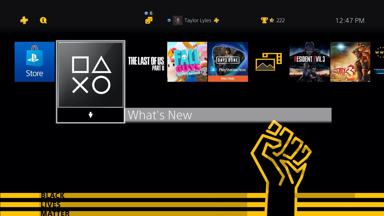 "Motyw ""Black Lives Matter"" na PS4"
