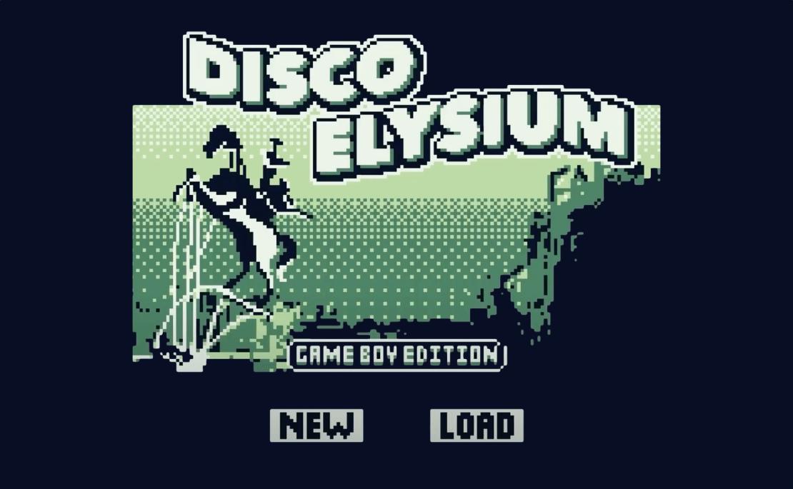 Disco Elysium (Game Boy Style)