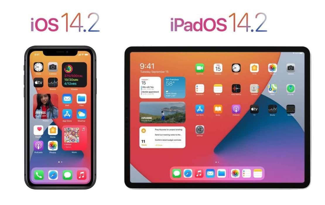 iOS 14.1 i iPadOS 14.2 (update - lista zmian i nowych funkcji)