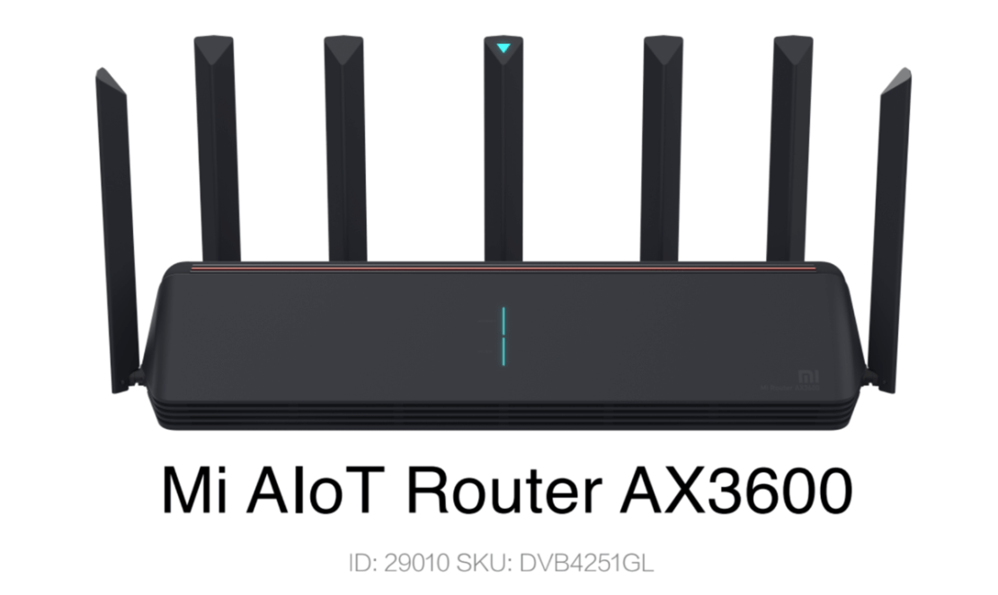 Mi AIOT Router AX 3600