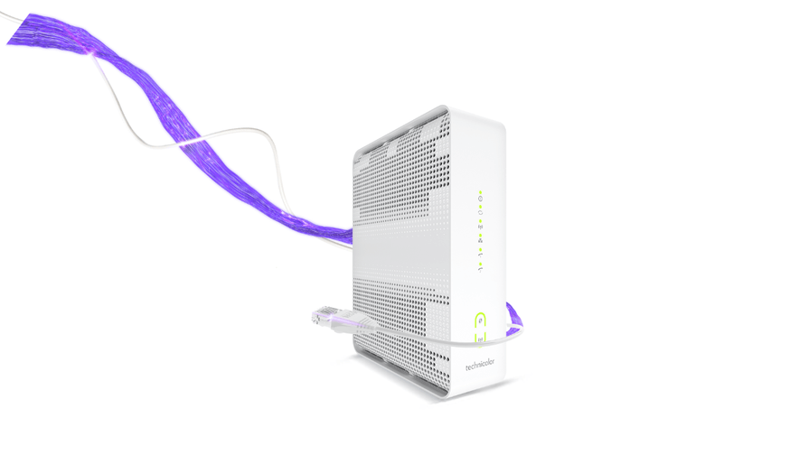Modem internetu stacjonarnego w Play z routerem bezprzewodowym Wi-Fi