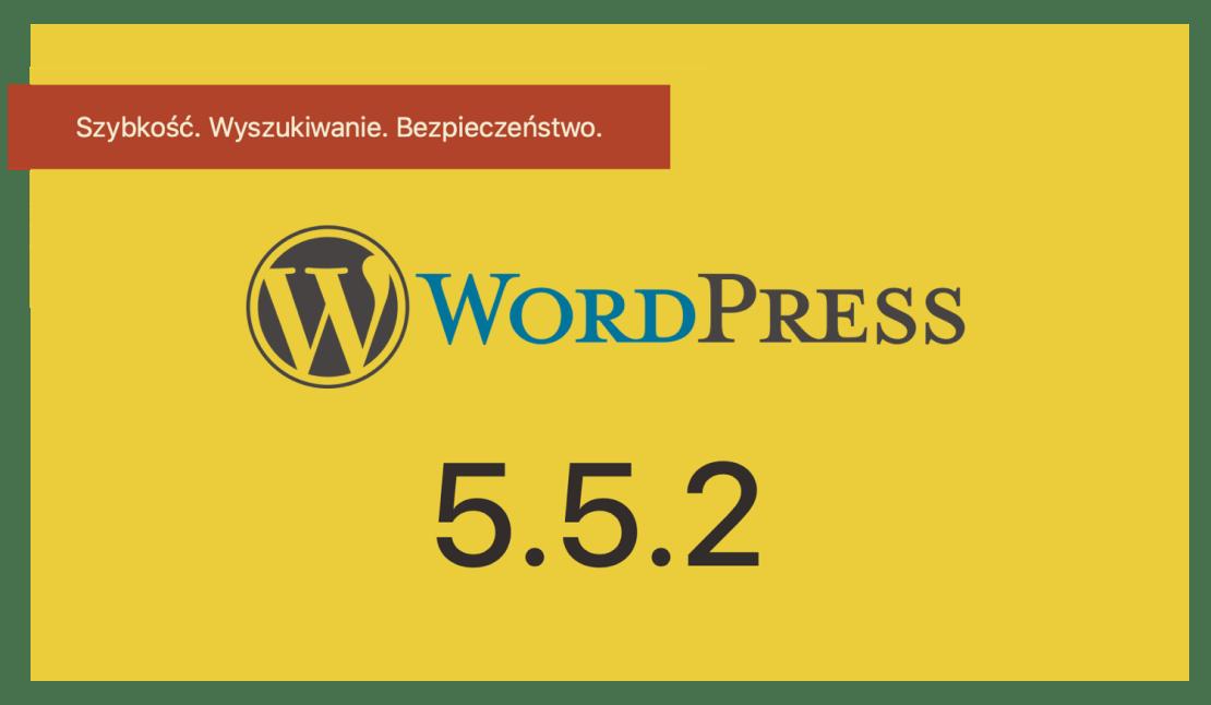 Aktualizacja WordPress 5.5.2