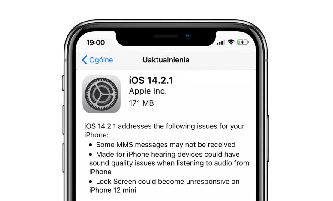iOS 14.2.1 OTA (iPhone 12)