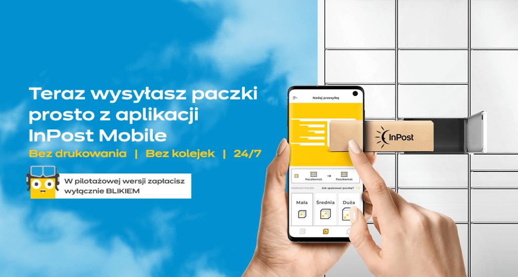 Wysyłanie paczek przez aplikację InPost Mobile (bez drukowania i naklejania etykiet)