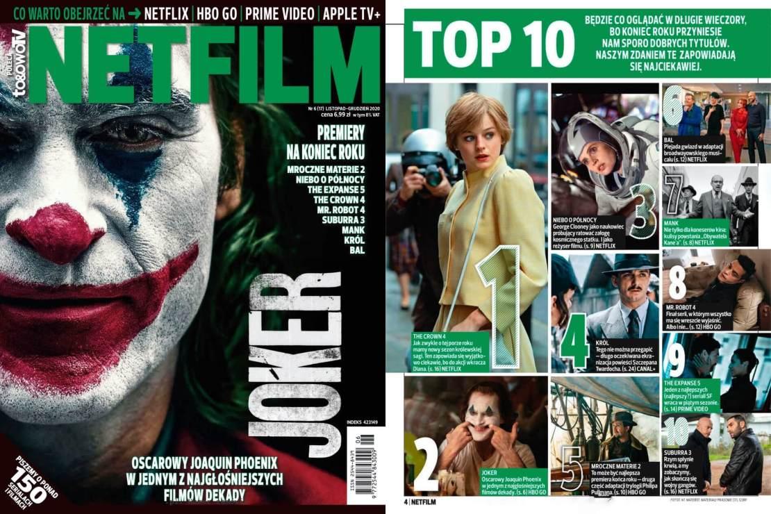 Okładka numeru magazynu Netfilm 6/17 (2020)