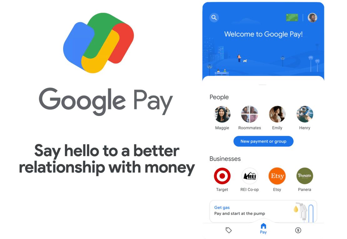 Nowe funkcje i wygląd aplikacji Google Pay