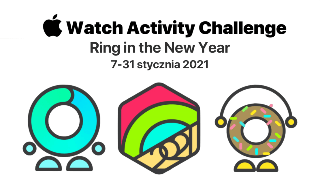 Apple Watch Activity Challange – Ring in the New Year 2021 (7-31.01.2021 r.)