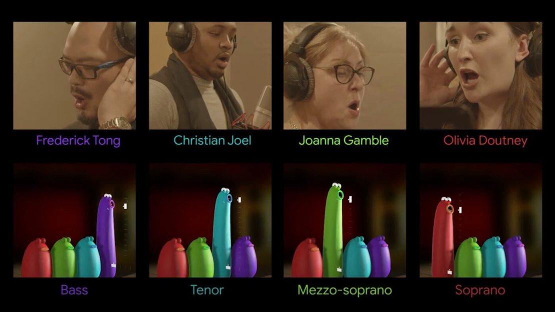 Śpiewacy operowi, użyczający głosy w Blob Opera