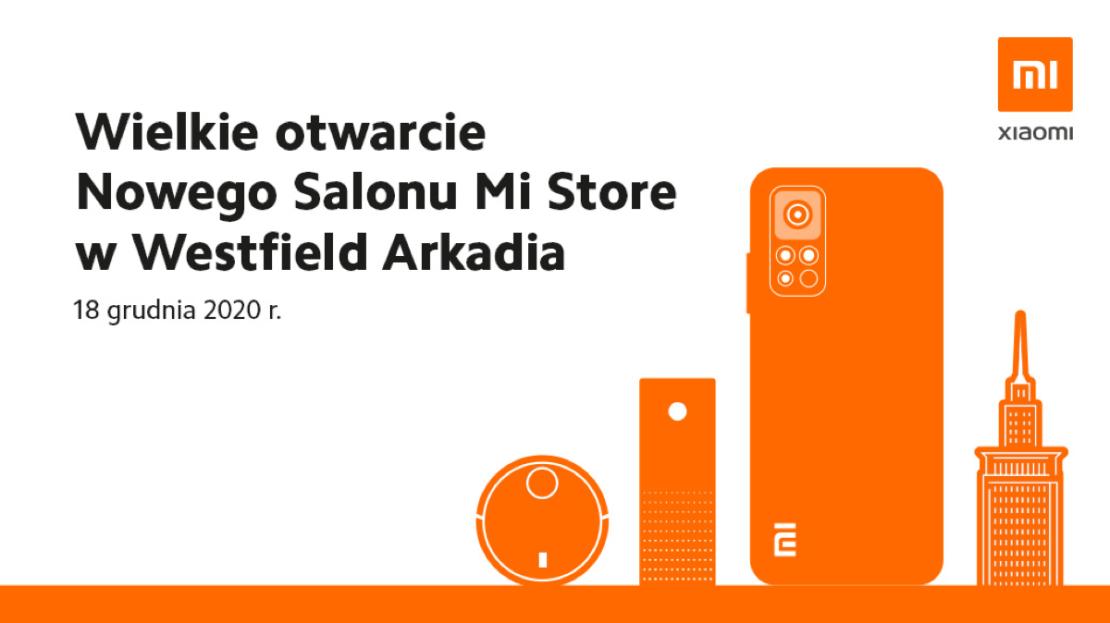 Otwarcie wielkiego Mi Store w Warszawie (18 grudnia 2020 r.)