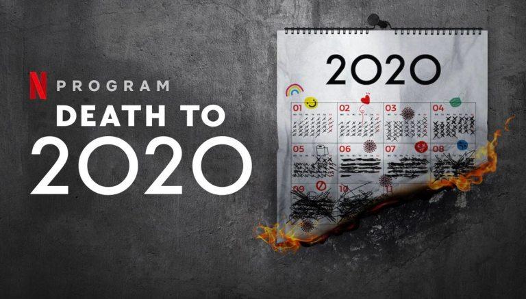 """""""Death to 2020"""" (Giń, 2020!) Netflix"""
