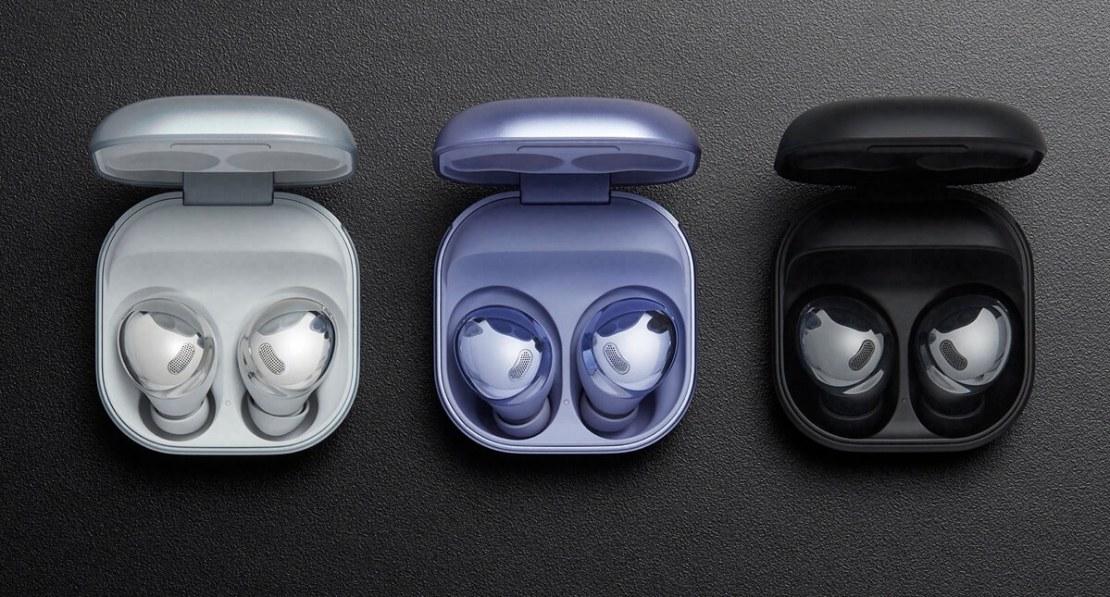 3 kolory słuchawek Galaxy Buds Pro