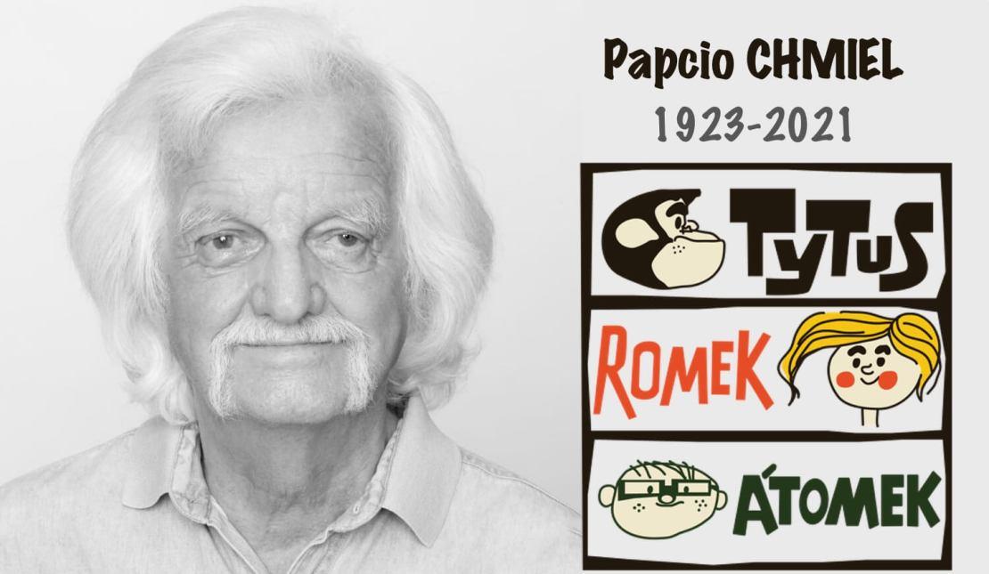"""Henryk Jerzy Chmielewski, ps. """"Papcio Chmiel"""" (ur. 7 czerwca 1923, zm. 21 stycznia 2021 r.)"""