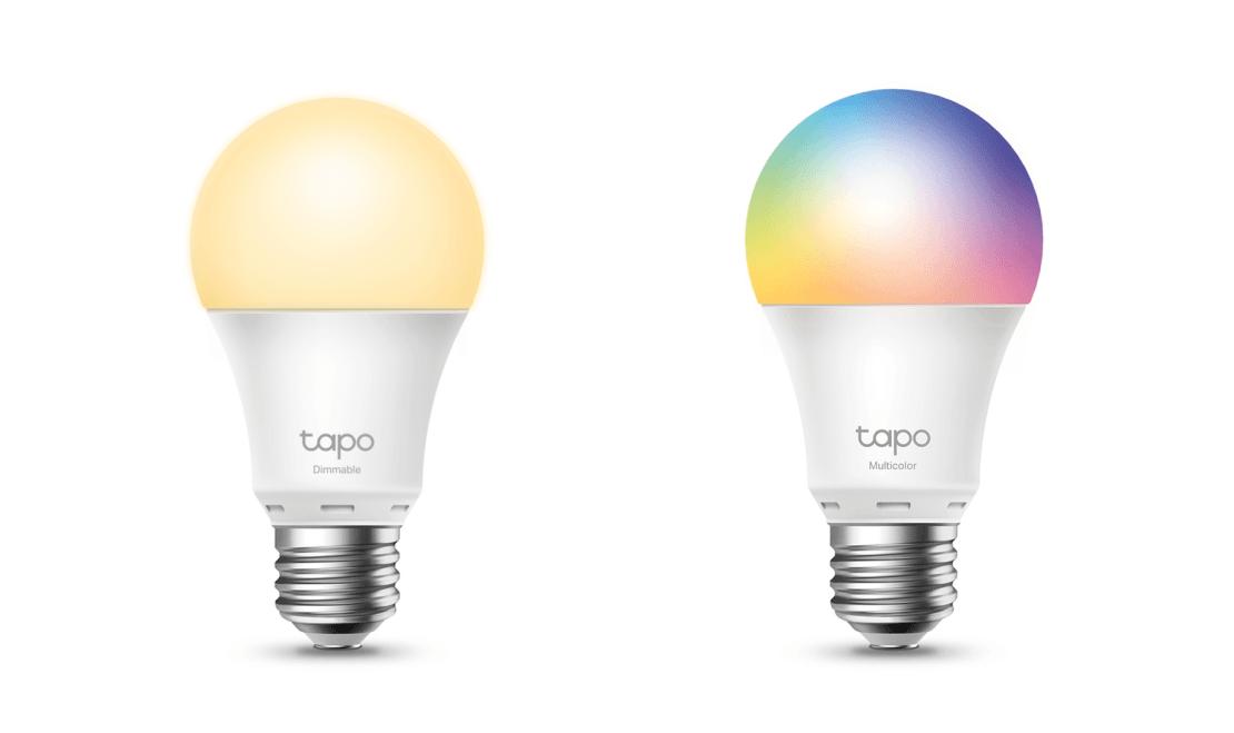 Żarówki smart Tapo L510E (dimmable) i L530E (multicolor)