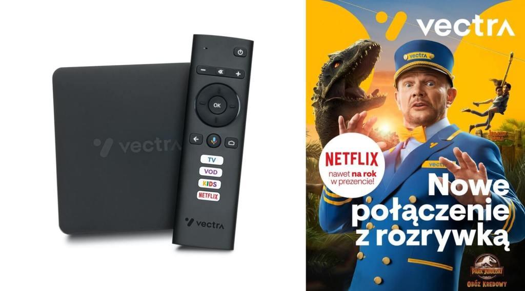 Nowa oferta w Vectra: dekoder Smart 4K i Netflix