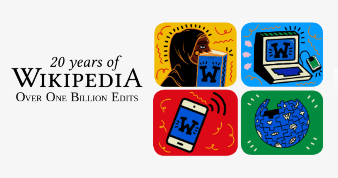 Wikipedia ma 20 lat (15 stycznia 2021 r.)