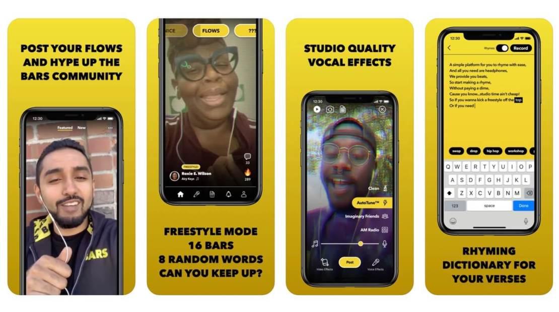 Aplikacja BARS - Rapper's Delight od NPE Teams (Facebook)