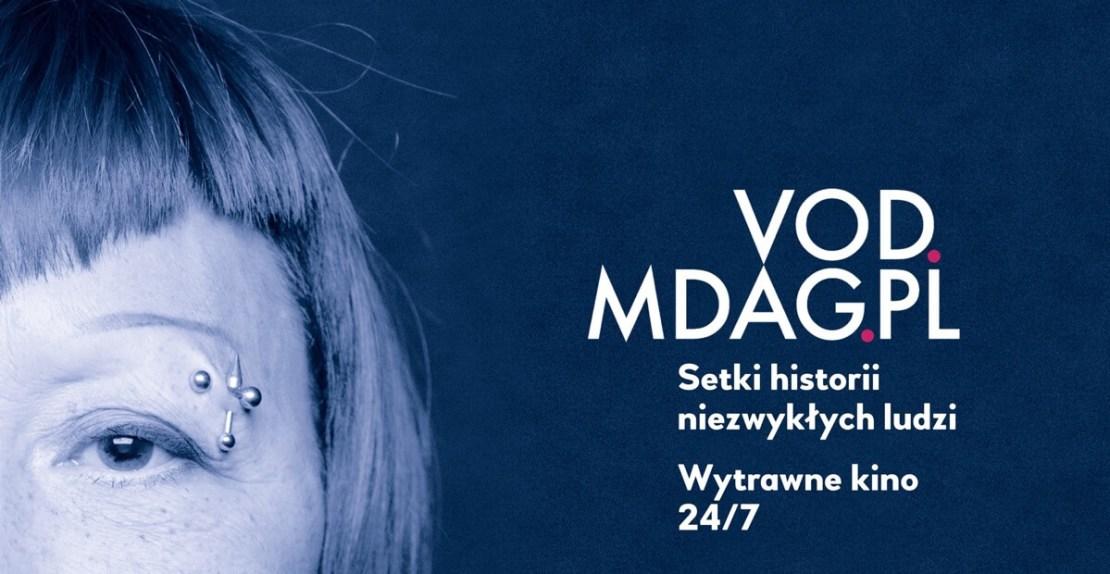 Serwis z filmami dokumentalnymi VOD.MDAG.PL