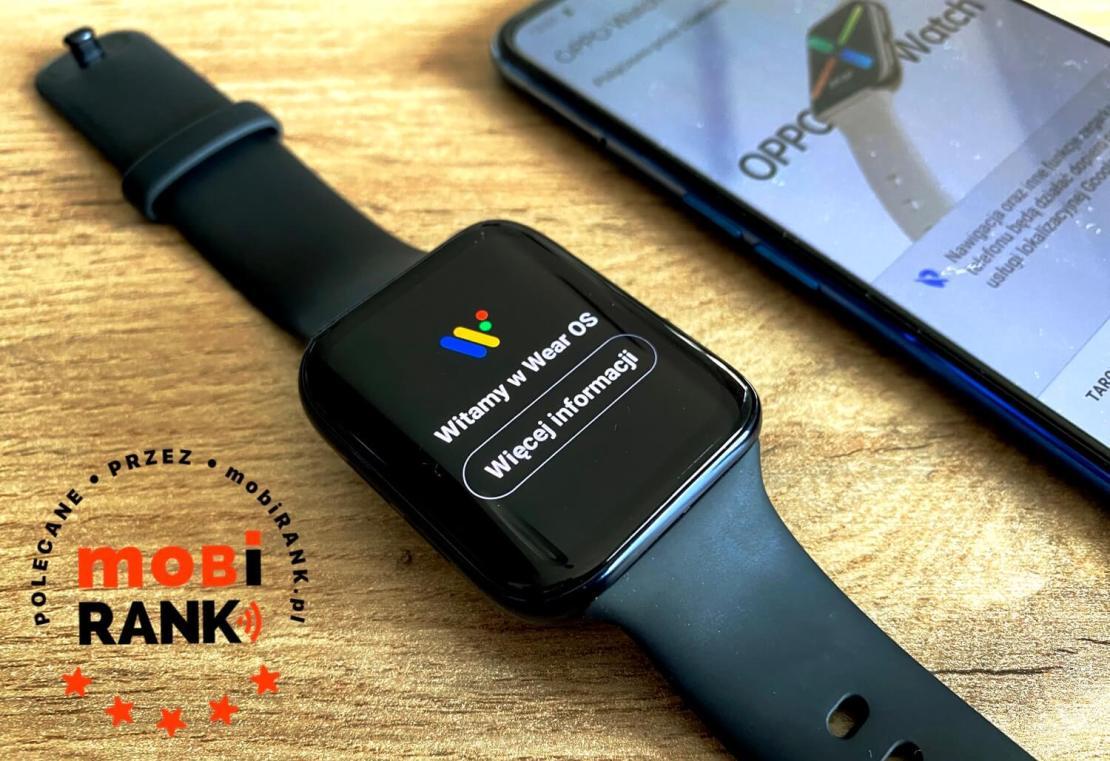 Recenzja zegarka Oppo Watch z Wear OS by Google