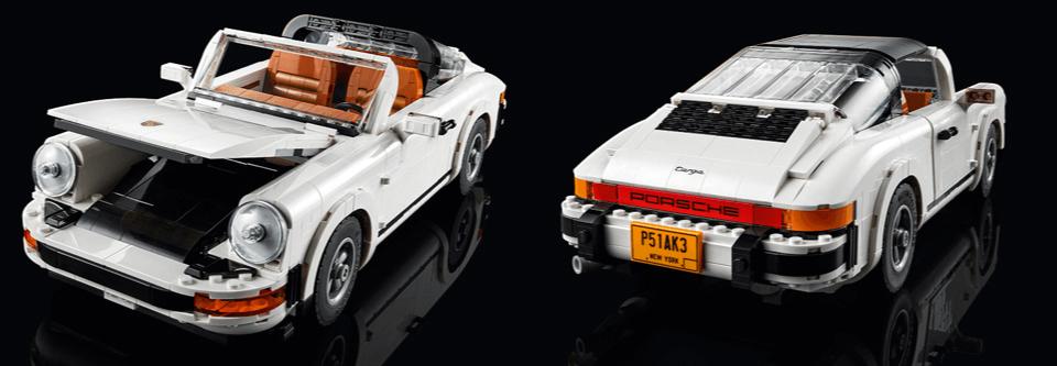 Porsche 911 Terga i Turbo (LEGO)