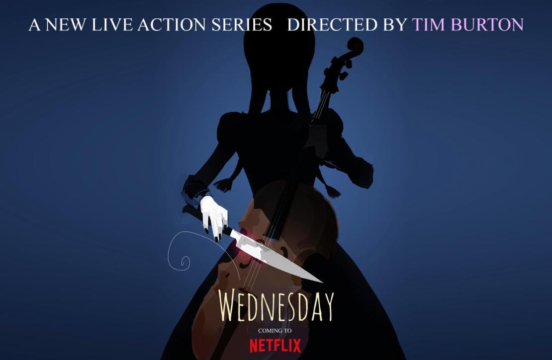 "Serial ""Wednesday"" Tima Burtona (Netflix)"