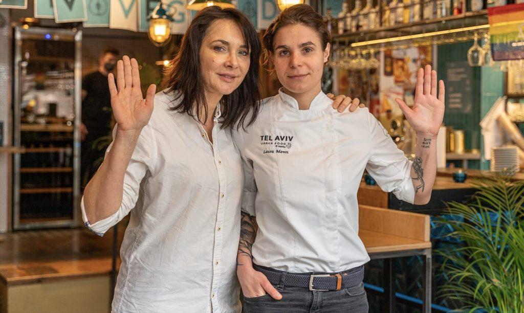 Malka Kafka właścicielka i Laura Monti szefowa kuchni - TelAviv Urban Food