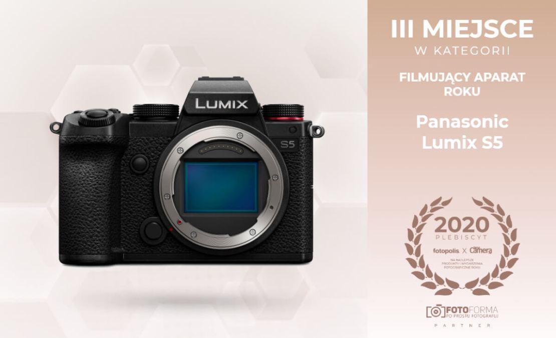Lumix S5 - III miejsce w plebiscycie 2020