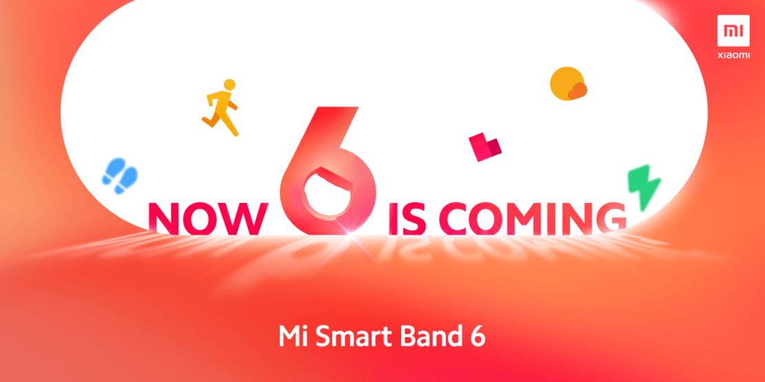 Zapowiedź opaski Mi Smart Band 6
