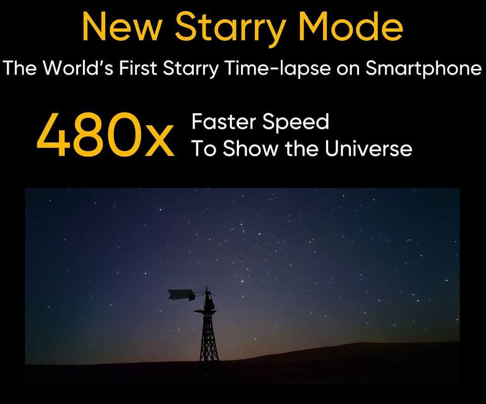 New Starry Mode (realme 8)