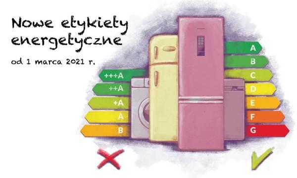Nowe etykiety energetyczne w Unii Europejskiej od 1 marca 2021 r.